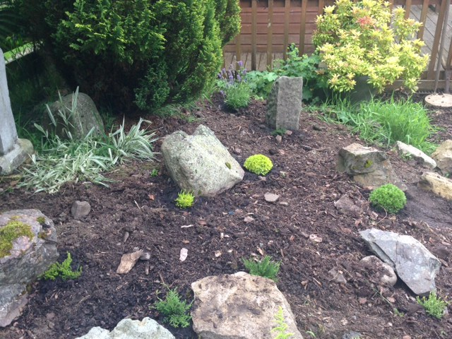 The Rockery - after