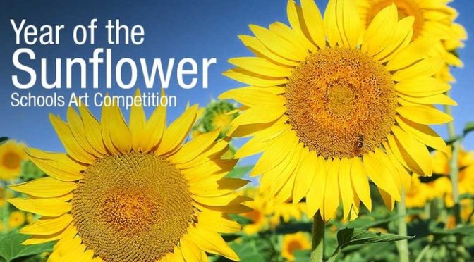 Year of The Sunflower – a lovely competition for kids!