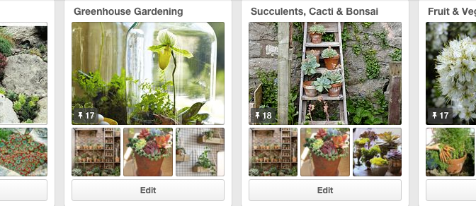 Pinterest – hanging basketfuls of inspiration