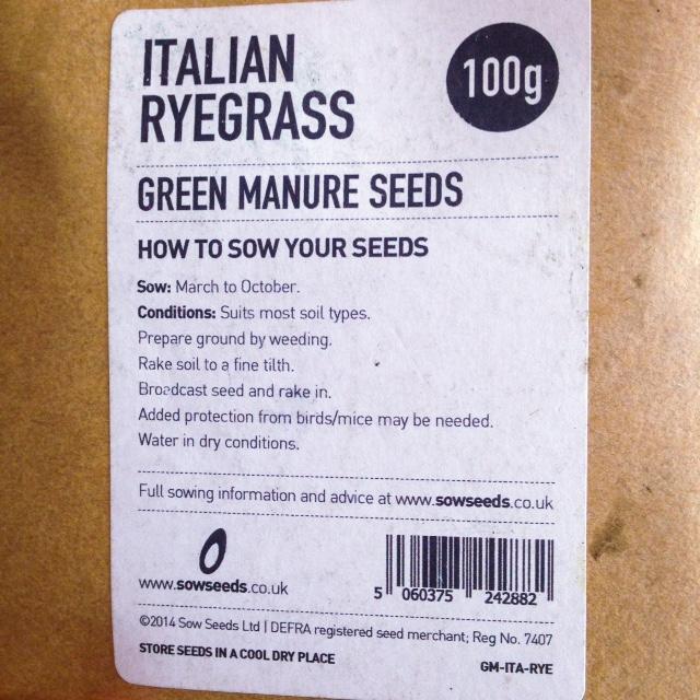 Green Manure Seeds