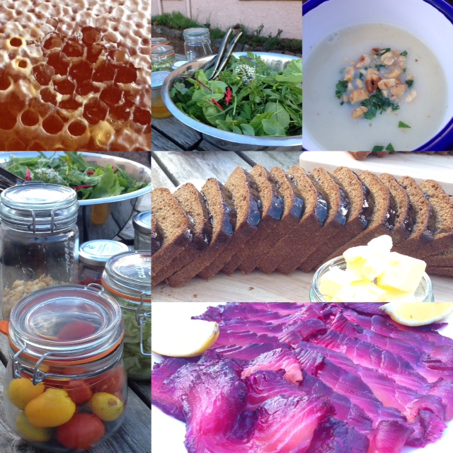 Colstoun Cookery School whip up a great lunch