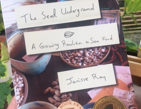 Seed Saving – this book has inspired me to give it a go!