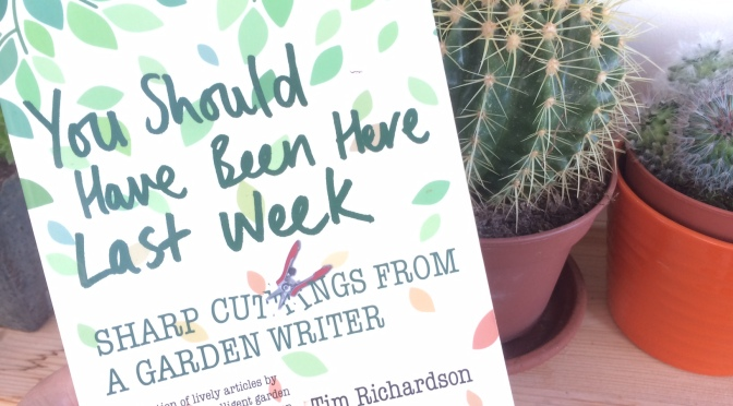 You Should Have Been Here Last Week – Book Review