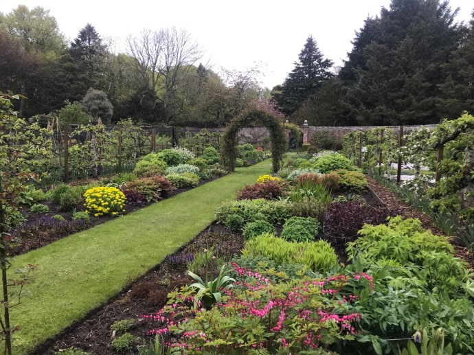 Walled Garden at Dunninald Castle